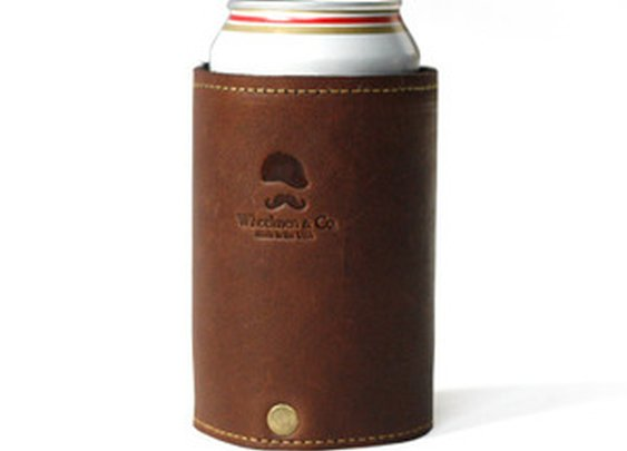 Wheelmen & Co. — Goldman Leather Koozie