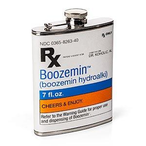 Doctor's Prescription Flask