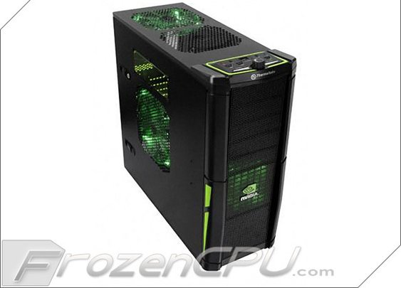 Image View | Thermaltake Element V Full-Tower Gaming Case w/ Colorshift Fans - nVidia Edition (VL200L1W2Z) - FrozenCPU.com
