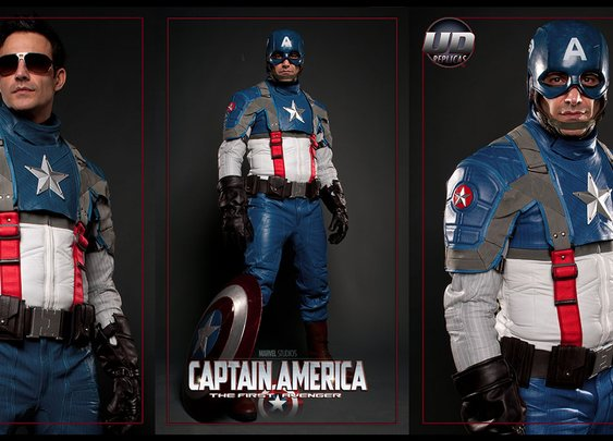UD Replicas Captain America Motorcycle Suit.