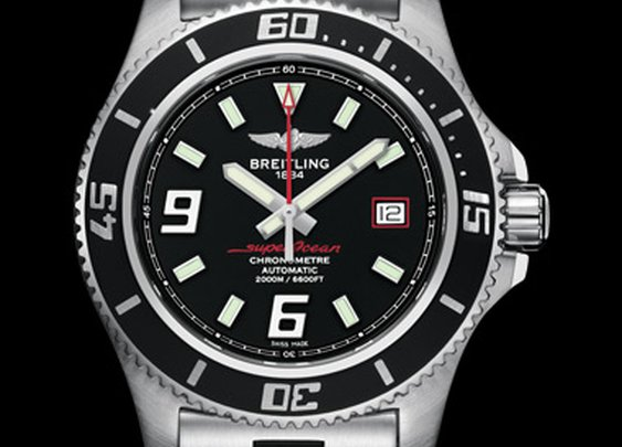SUPEROCEAN 44 - Superocean 44 - Superocean - Versions - Models  - BREITLING | INSTRUMENTS FOR PROFESSIONALS™