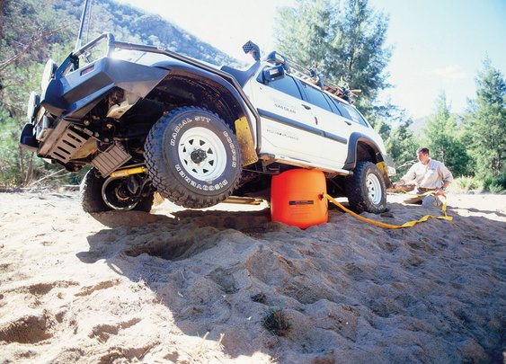 Bushranger X-Jack - Exhaust Powered Vehicle Jack