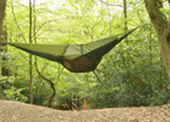 Think Tent + Hammock + Coolness