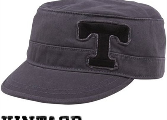 Top of the World Tennessee Volunteers Unisex Charcoal Mystique Adjustable Cadet Hat