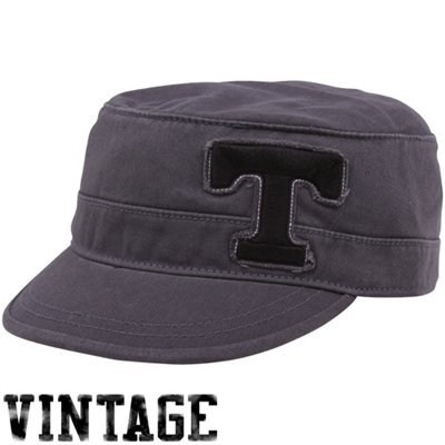 Top of the World Tennessee Volunteers Unisex Charcoal Mystique Adjustable Cadet Hat
