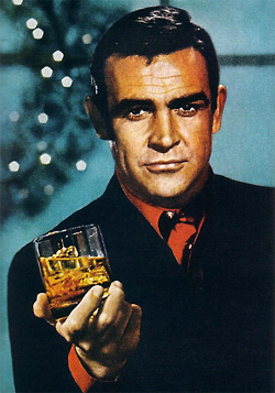 Sean Connery + Whiskey