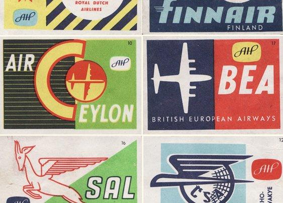 Strike it – Vintage Matchbox Graphic Inspiration