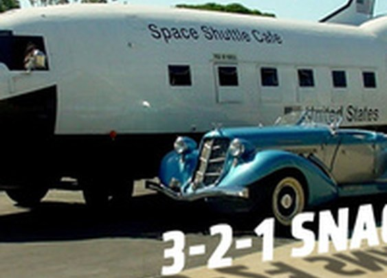 Own This Space Shuttle Food Truck