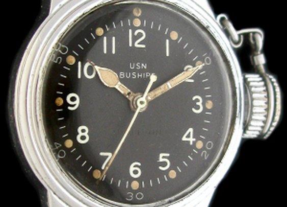 Vintage Hamilton BUSHIPS Canteen Frogman Watch