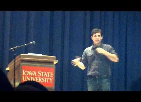 Max Brooks lectures at ISU      - YouTube