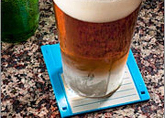ThinkGeek :: Floppy Disk Drink Coasters