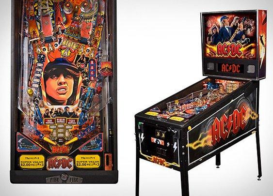 AC/DC Pinball Machine | Uncrate
