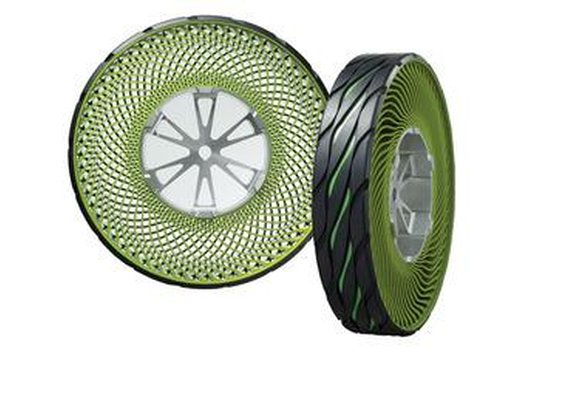 Tech Dept.: The Latest on the Airless Tire-and-Wheel Combo - Tech Dept. - Car and Driver