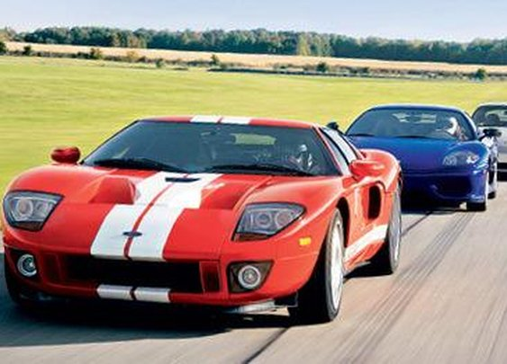 2004 Ferrari Challenge Stradale vs. Ford GT, Porsche 911 GT3 Comparison Tests - Page 4 - Car and Driver