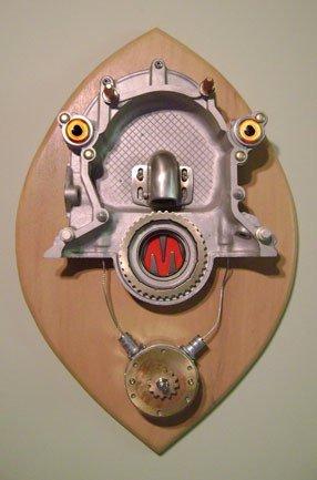 Assemblage Robot Head Night Light by Talbotics