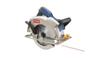 "Ryobi Power Tools :: 7-1/4"" Circular Saw with Laser"