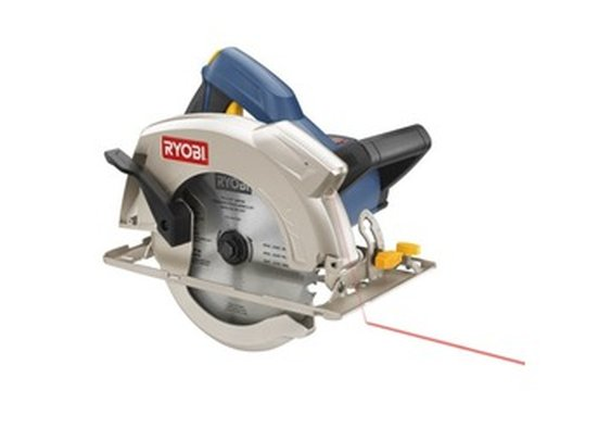 "Ryobi Power Tools :: 7-1/4"" Circular Saw with Laser"