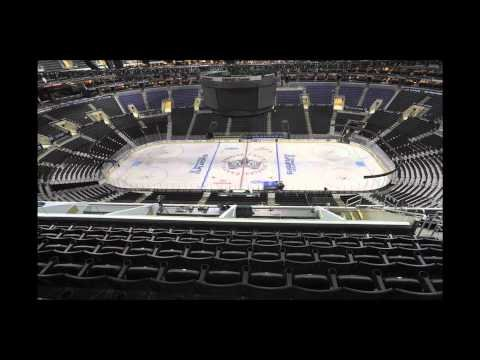 """STAPLES Center  """"Sports-ageddon"""" Conversion - L.A. KINGS to LAKERS to CLIPPERS      - YouTube"""