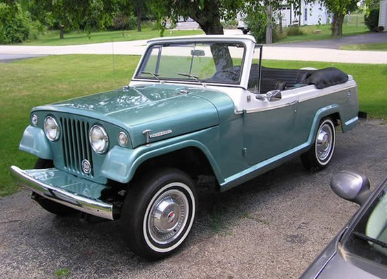 1967 Jeepster Deluxe Convertible.