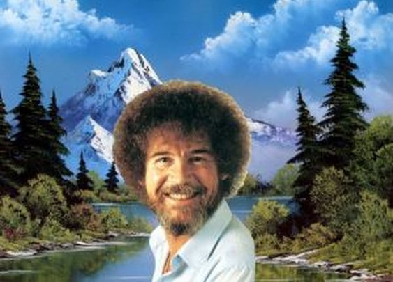 A Name Worth Remembering: Bob Ross  |  thethingaboutflying