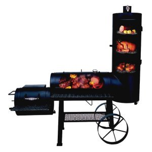 Brinkmann Southfork Charcoal/Wood Smoker & Grill