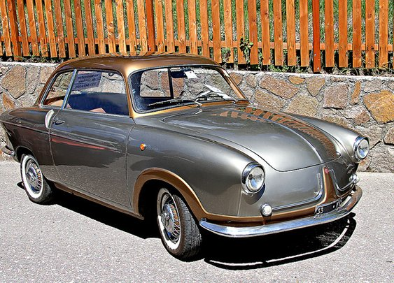 1956 Fiat 600 Monterosa.