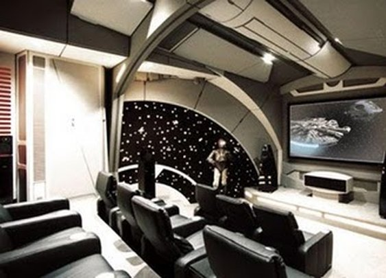 Star Wars Themed Man Cave