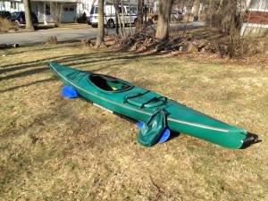 1992 Aquaterra Spectrum kayak