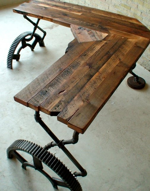 Desk - Reclaimed