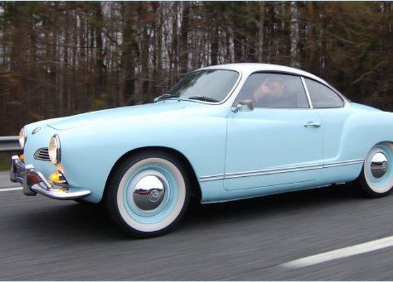 1968 Volkswagen Karmann Ghia.