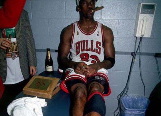 Michael Jordan. 'Nuff said.