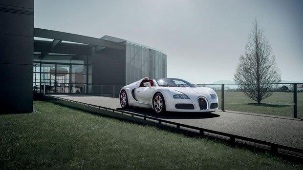 Bugatti Veyron Grand Sport Wei Long Edition