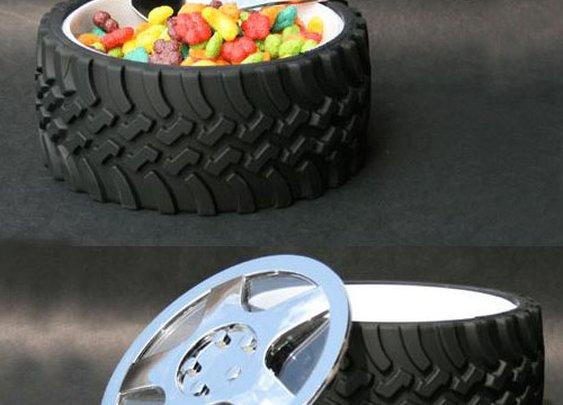 Wrenchware Tire Bowl | GeekAlerts