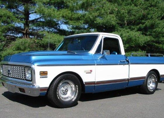 1971 Chevrolet Cheyenne.
