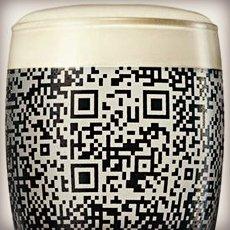 Guinness QR Pint Glass   Cool Material