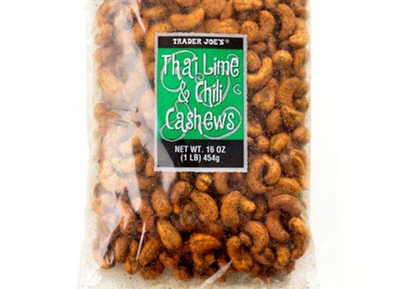 Trader Joe's Lime & Chili Cashews - Saveur.com