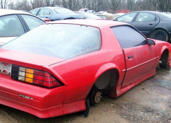 1992 Chevy Camaro RS (parts only)
