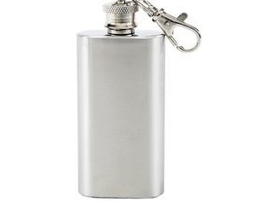 Stainless Steel Key Chain Flask