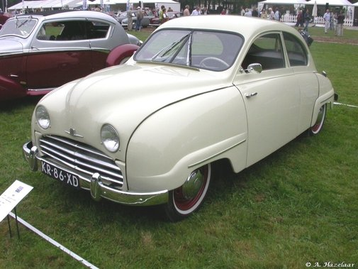 1956 Saab 92.