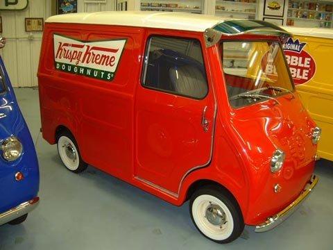 1963 Goggomobil Transporter.