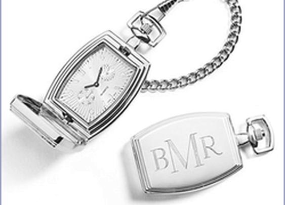 Rectangular Pocket Watch