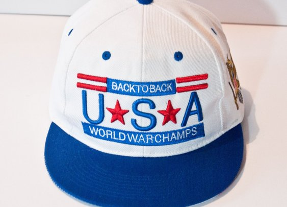 Back to Back World War Champs Snapback Hat - Natives USA