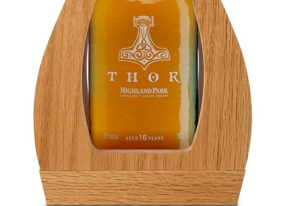 Avengers Assemble Shot Glasses! THOR Single Malt Scotch Whisky