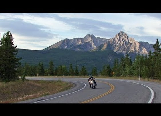 Motorcycle Riding, Elk, Rocky Mountains. Travel & Adventure POV      - YouTube