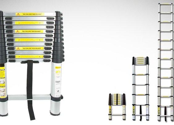 Extend A Step Telescopic Ladder