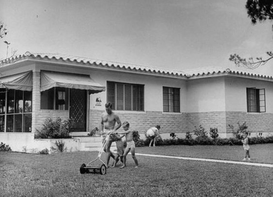 In Praise of the Push Reel Mower   The Art of Manliness