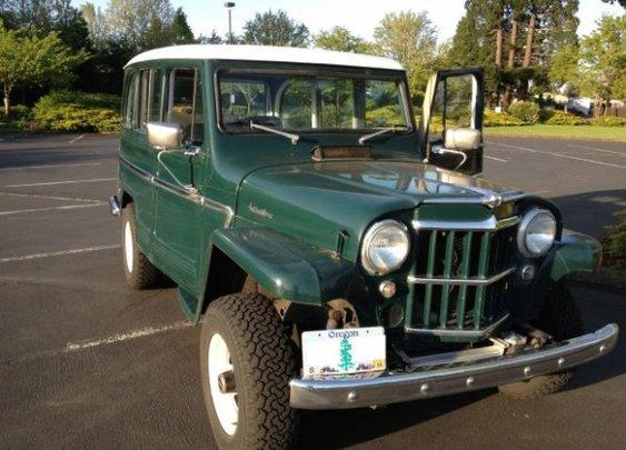 1962 Willys 4x4 Wagon