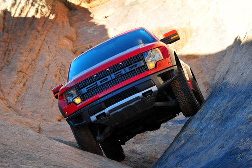 2012 Ford F-150 SVT Raptor Off-Road Trail Test - PickupTrucks.com News