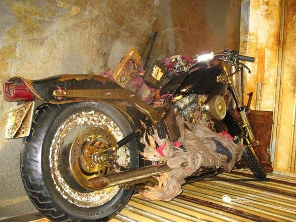 Harley-Davidson Motorcycle swept away by Japan tsunami to be preserved in museum
