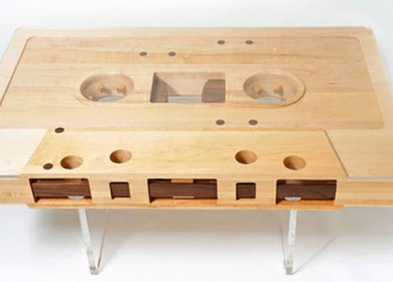 egotripland.com  » How Ya Livin'?: This Mixtape Coffee Table is Fresh.